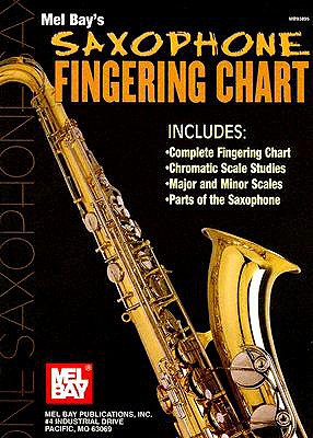 Saxophone Fingering Chart By Bay, William
